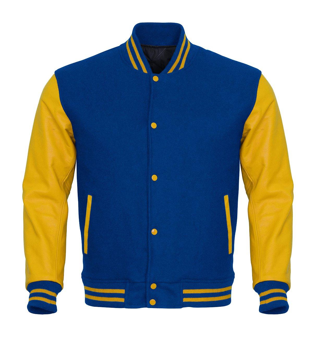 Leather Sleeves Varsity Jackets